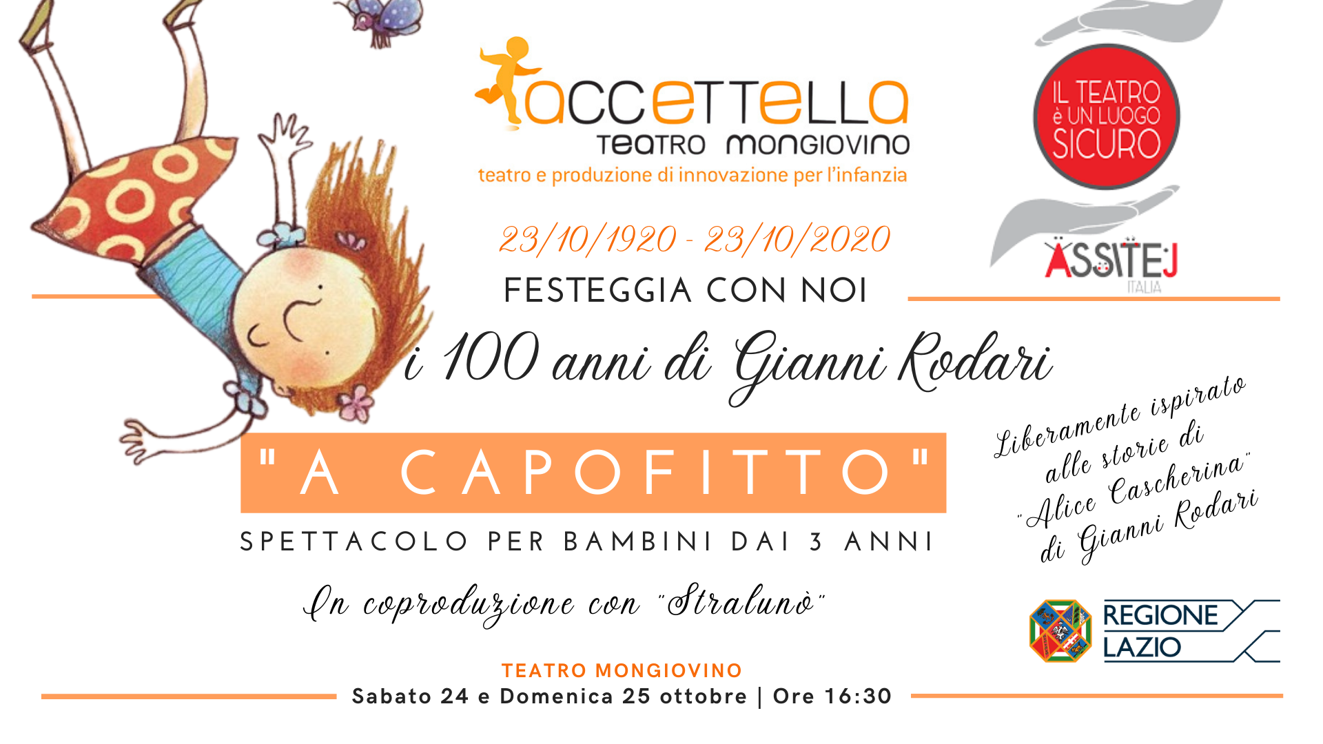 23 ottobre 1920 festeggia con noi i 100 anni di Gianni Rodari (1)